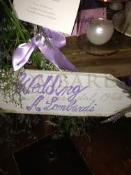 Insegna Wedding - A. Lombardi