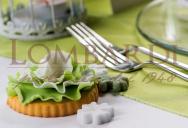 Tavolo verde mela - Dettaglio - Segnaposto