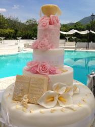 Torta_comunione_rose-rosa