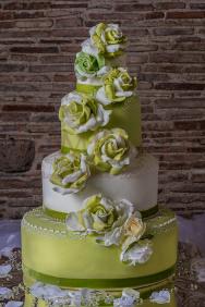 Torta_rose-bianche&verdi