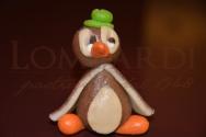 Pinguino marrone